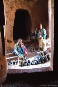 Harar rock-hewn church Bete Mariam