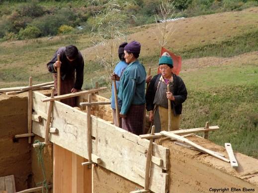 Bhutan village