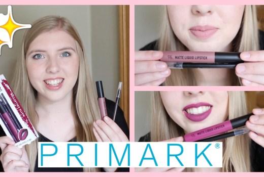 primark lip kits