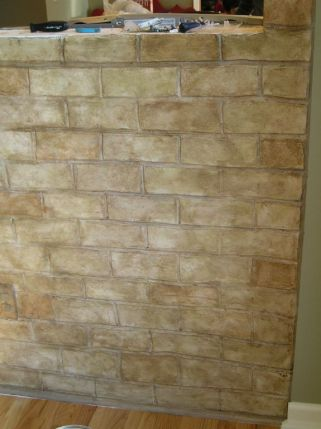 Old brick effect by Ellen Leigh