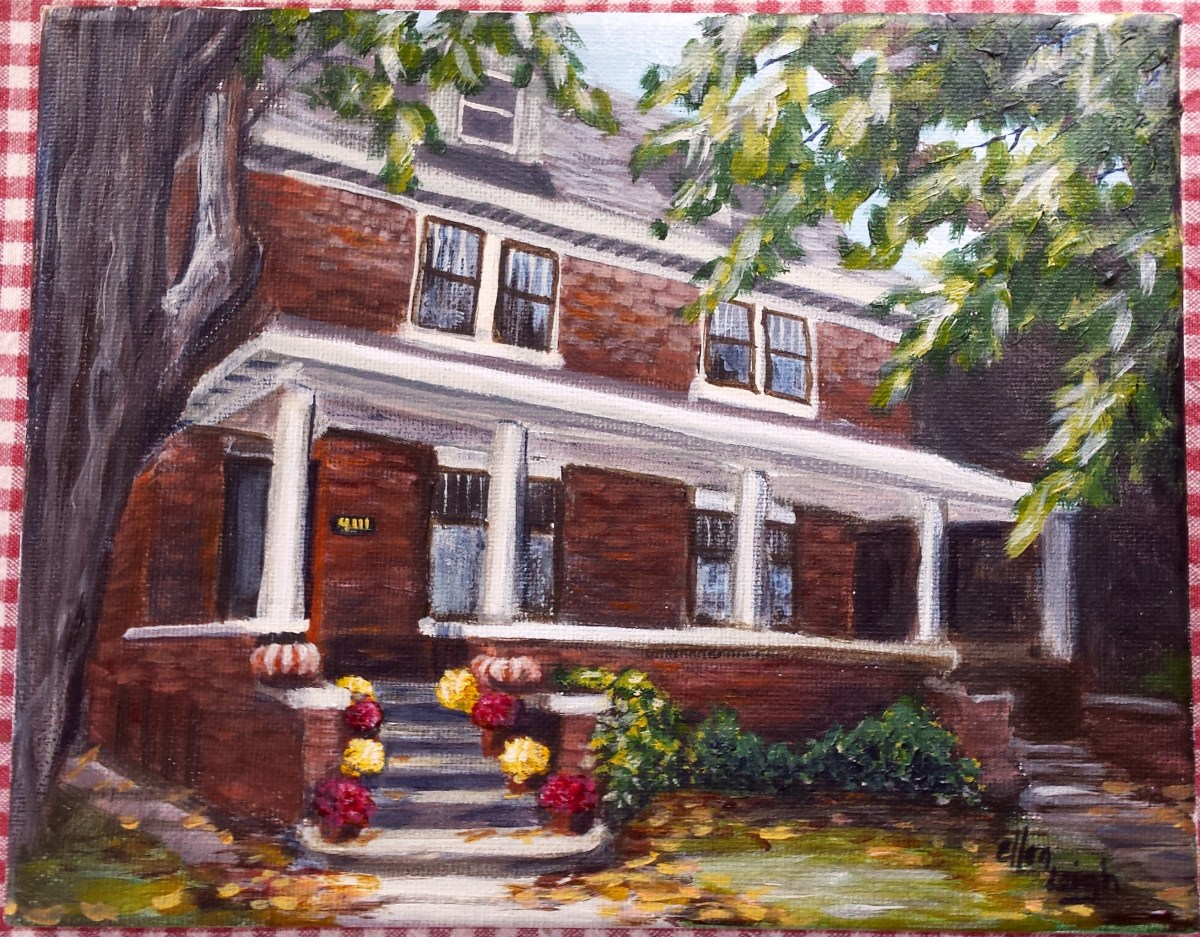 House Portrait Gift