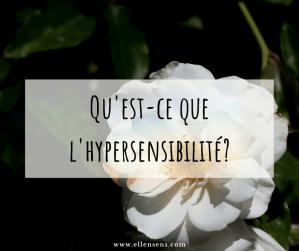 Qu'est-ce que l'hypersensibilité ?