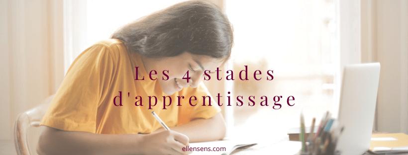 les-4-stades-d-apprentissage