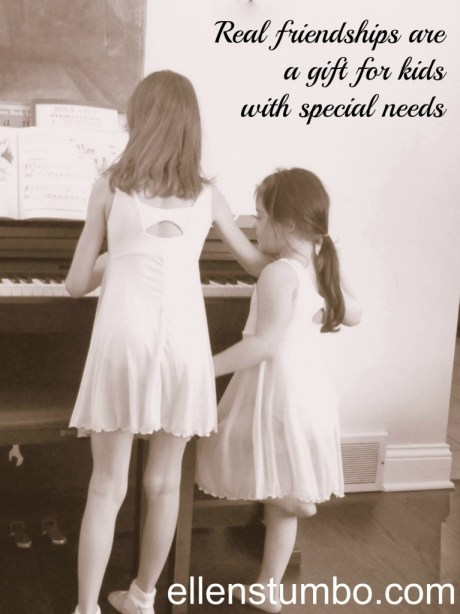 about friends and special needs