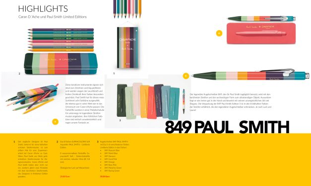 849 Paul Smith und Caran D´Ache