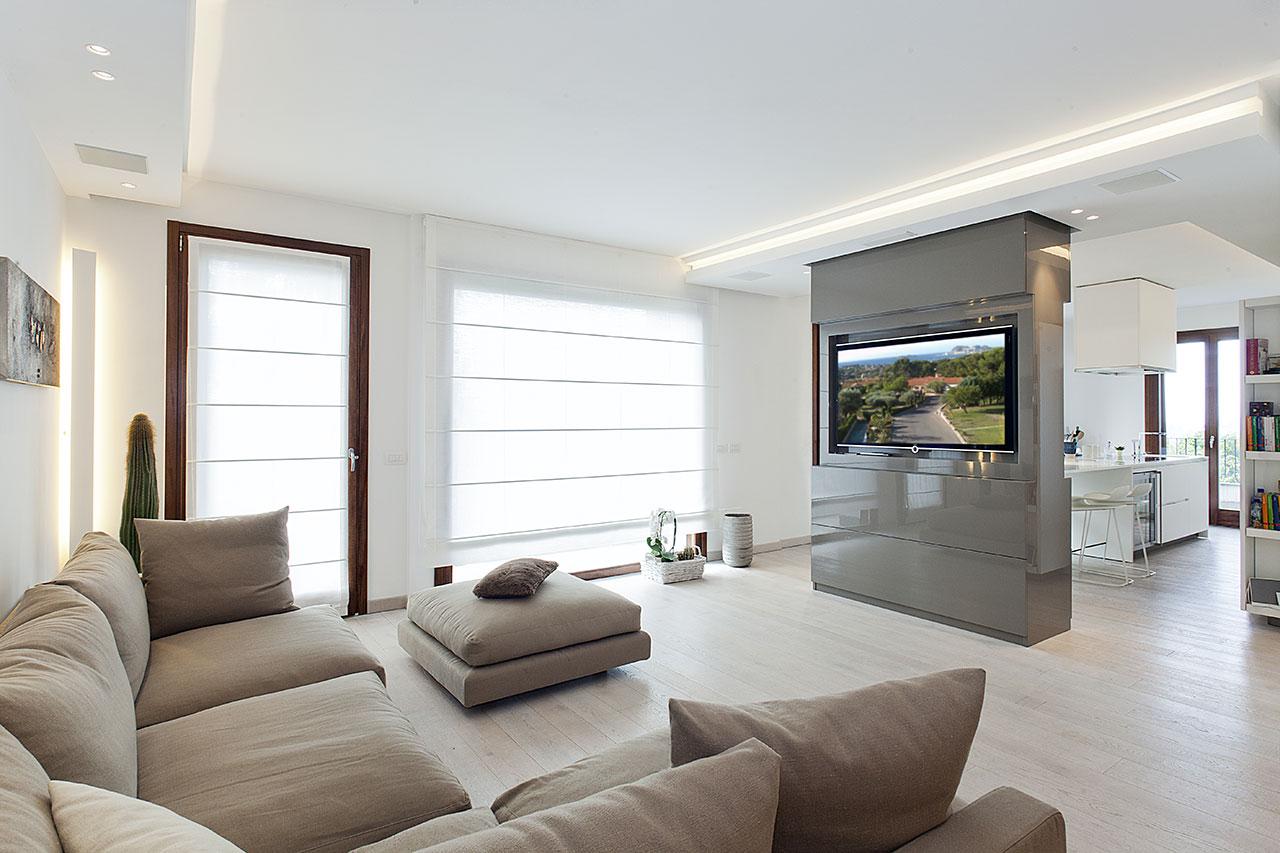 Raffinato minimalismo living ellepi interior design for Immagini arredamento salotto
