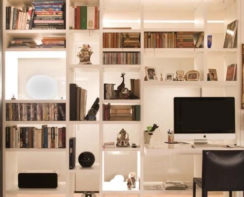 Comfort e design a Milano - Libreria