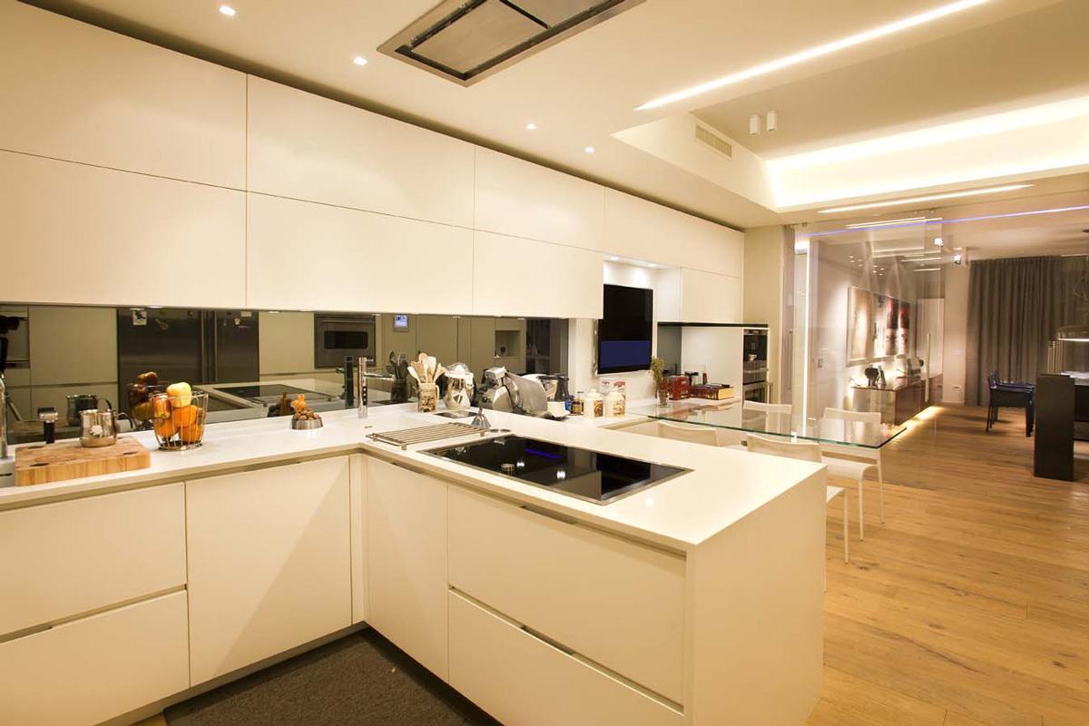 Attico 05 - Cucina - Ellepi Interior Design