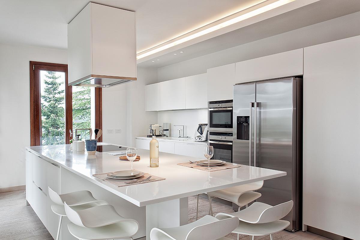 Attico 10 - Cucina - Ellepi Interior Design