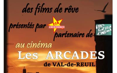 Partenariat avec le cinema Les Arcades de Val-de-Reuil
