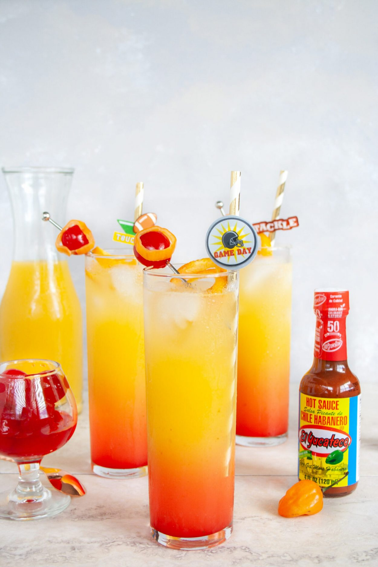Habanero Tequila Sunrise Elle Talk