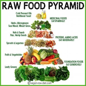 Raw Food Pyramid