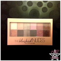 Palette The Blushed Nudes de Maybelline (1)