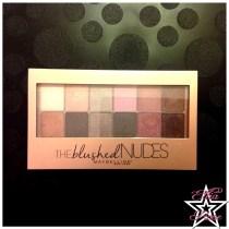 Palette The Blushed Nudes de Maybelline (1)