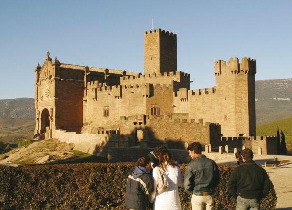 Turismo por Navarra: Castillo de Javier. Fotografía cedida por el Archivo de Turismo Reyno de Navarra