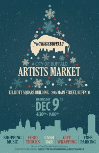 Artists Market Buffalo Dec 9