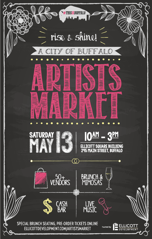 Buffalo Rising: A City of Buffalo Artists Market: Spring Edition