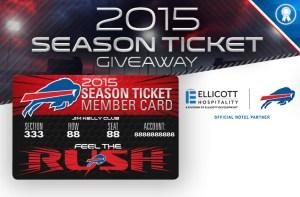 Buffalo Bills 2015 Season Ticket Giveaway