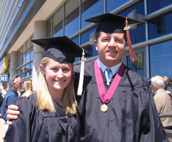 Graduation from SLU