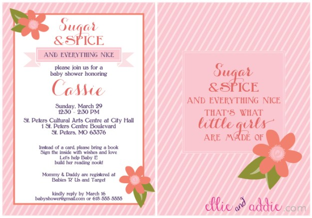 Invitation Design by All You Need Is Paper