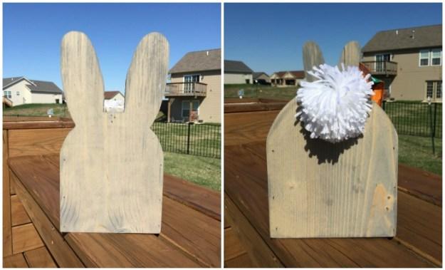 Front & Back of Jude's Easter Basket | Ellie And Addie
