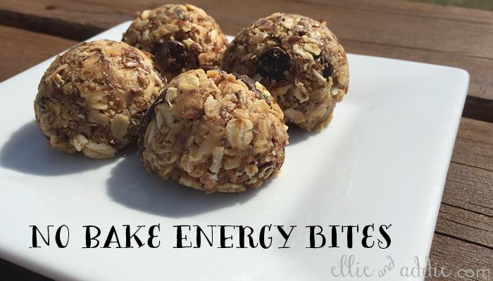 No Bake Energy Bites | Ellie And Addie