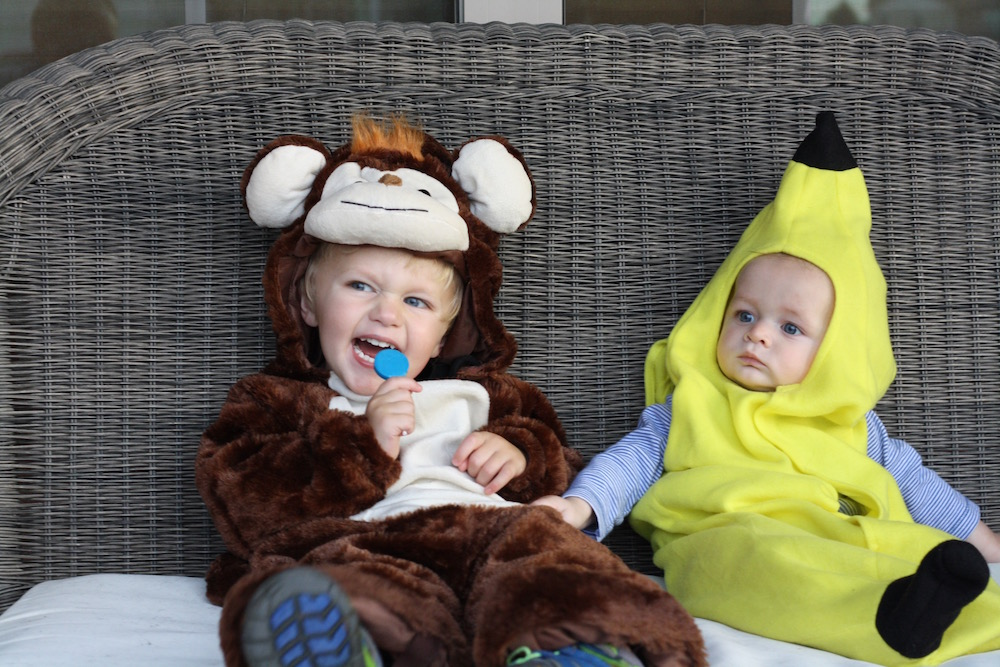 Go Bananas - Halloween 2016 | Ellie And Addie