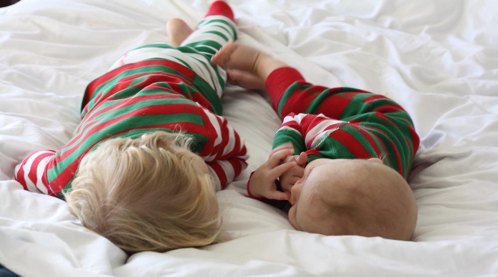 Christmas Pajama Party   Ellie And Addie