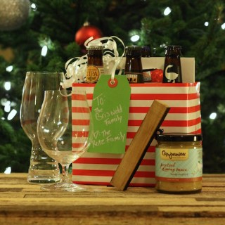 Hoppy Holidays – DIY Beer Gift Basket