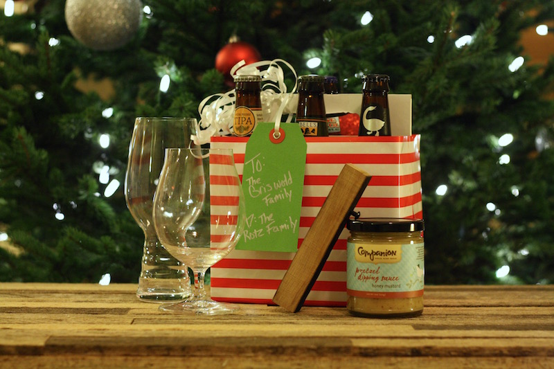 Hoppy Holidays - DIY Beer Gift Basket | Ellie And Addie