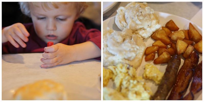Breakfast with Santa at Eckert's | Ellie And Addie
