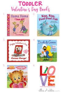 Toddler Valentine's Day Books   Elllie And Addie