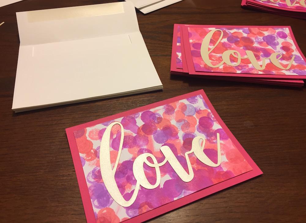 Valentine's Day Love Notes | Ellie And Addie