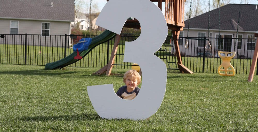 Happy Third Birthday Jude!