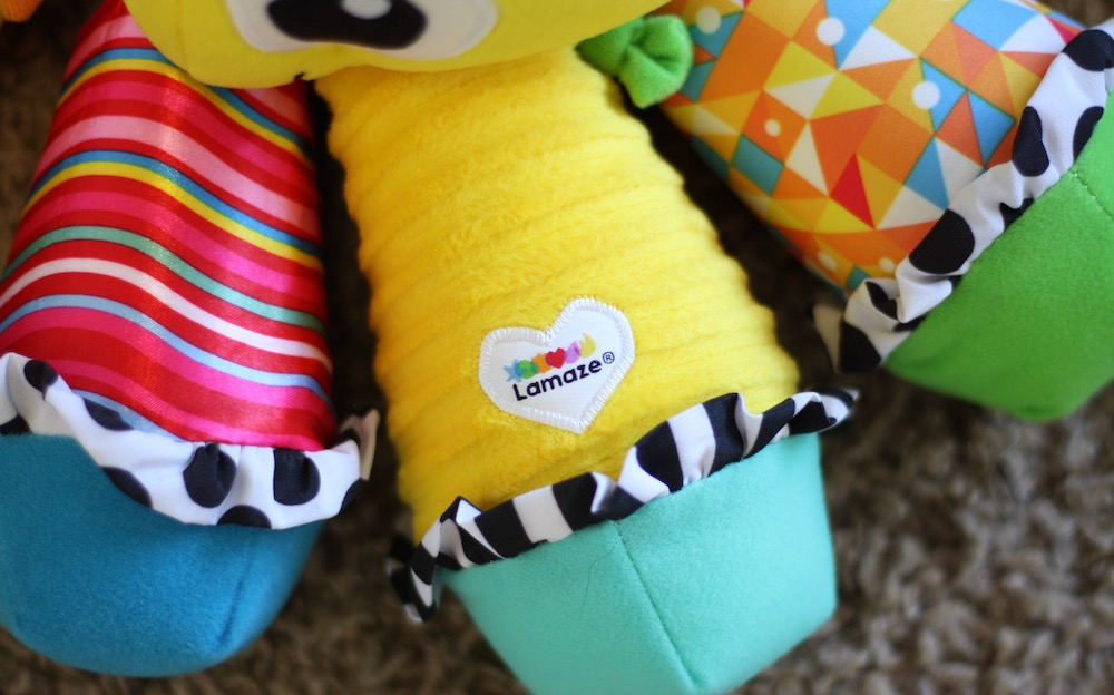 Learning Through Play with Lamaze Toys | Ellie And Addie