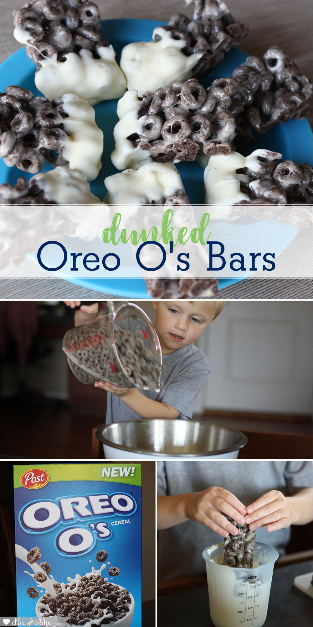 Dunked Oreo O's Bars Recipe | Ellie And Addie