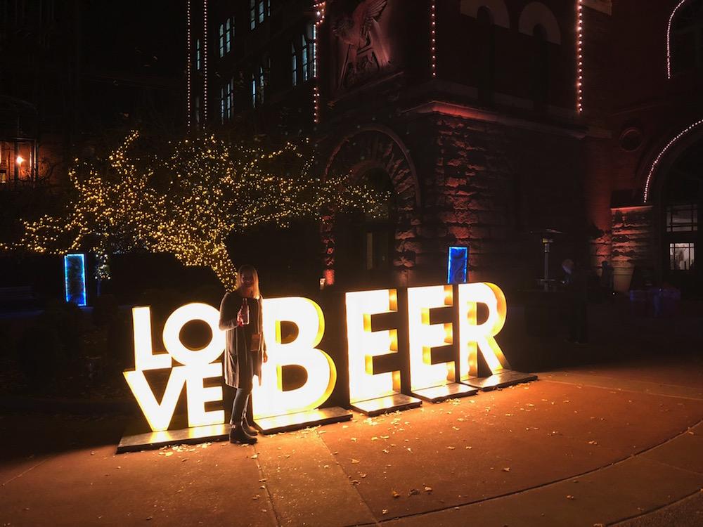 brewery lights at anheuser busch st louis
