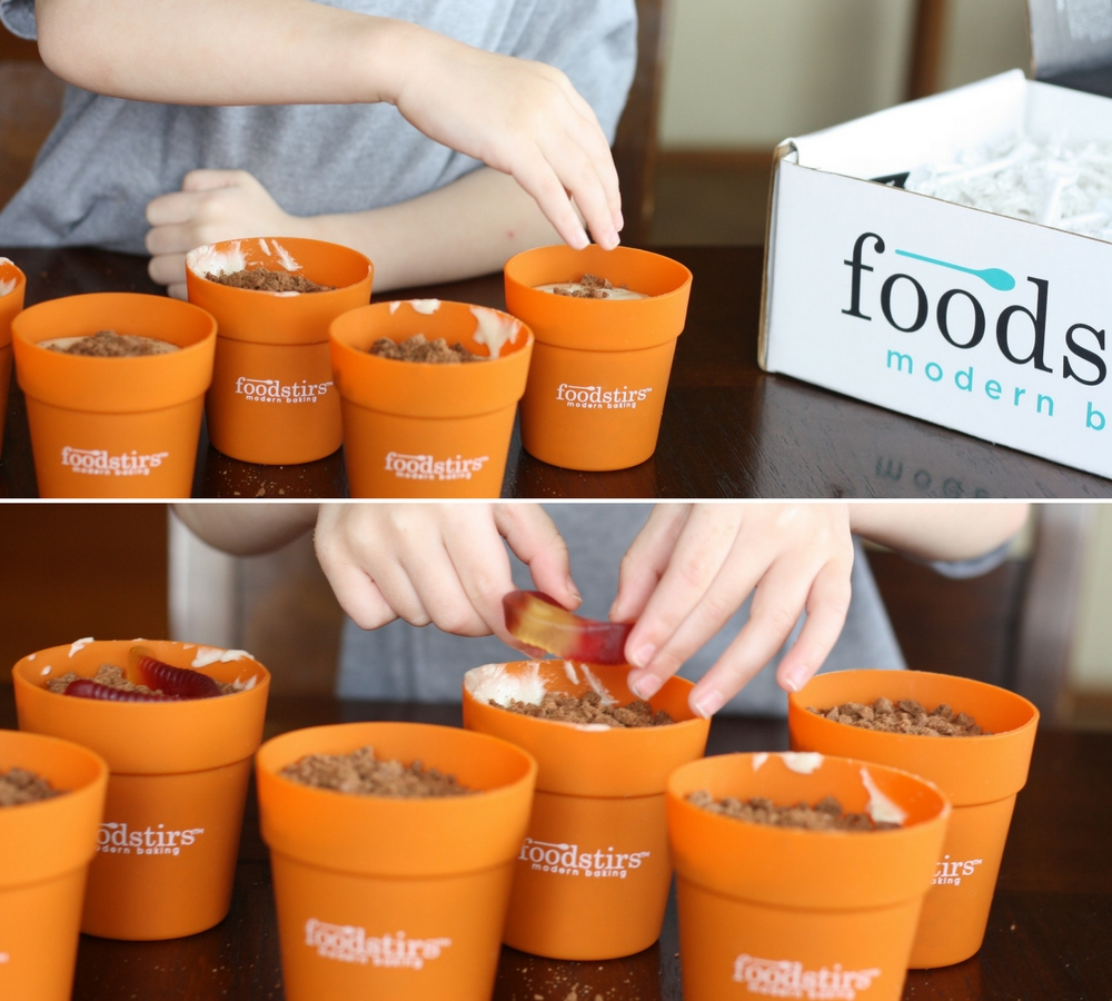 Earth Day Dessert with Foodstirs Baking Kits | Ellie And Addie