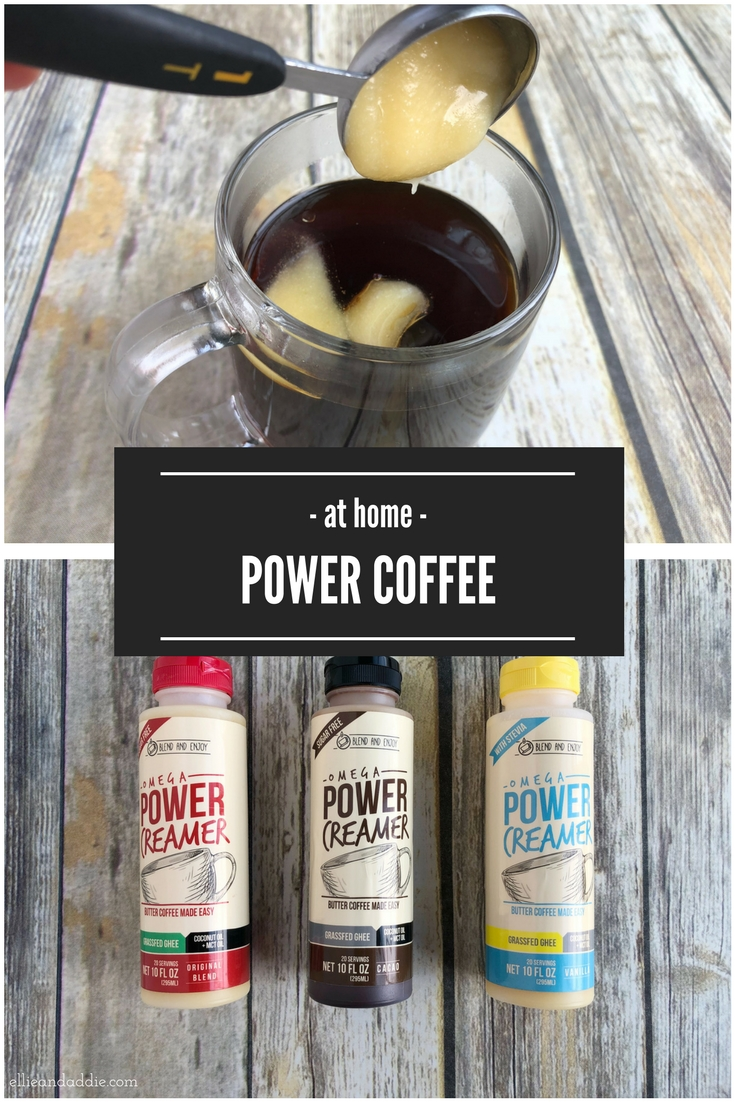 How To Make Power Coffee At Home - How to make butter coffee at home with PowerCreamer | Ellie And Addie
