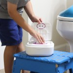 Potty Independence with Kandoo Flushable Wipes