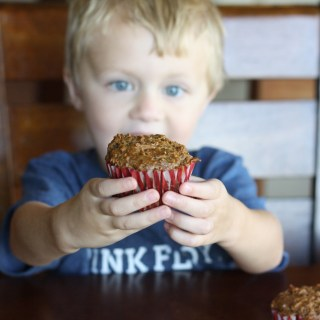 Blackberry Bran Muffins – Be A Good Cookie with OXO