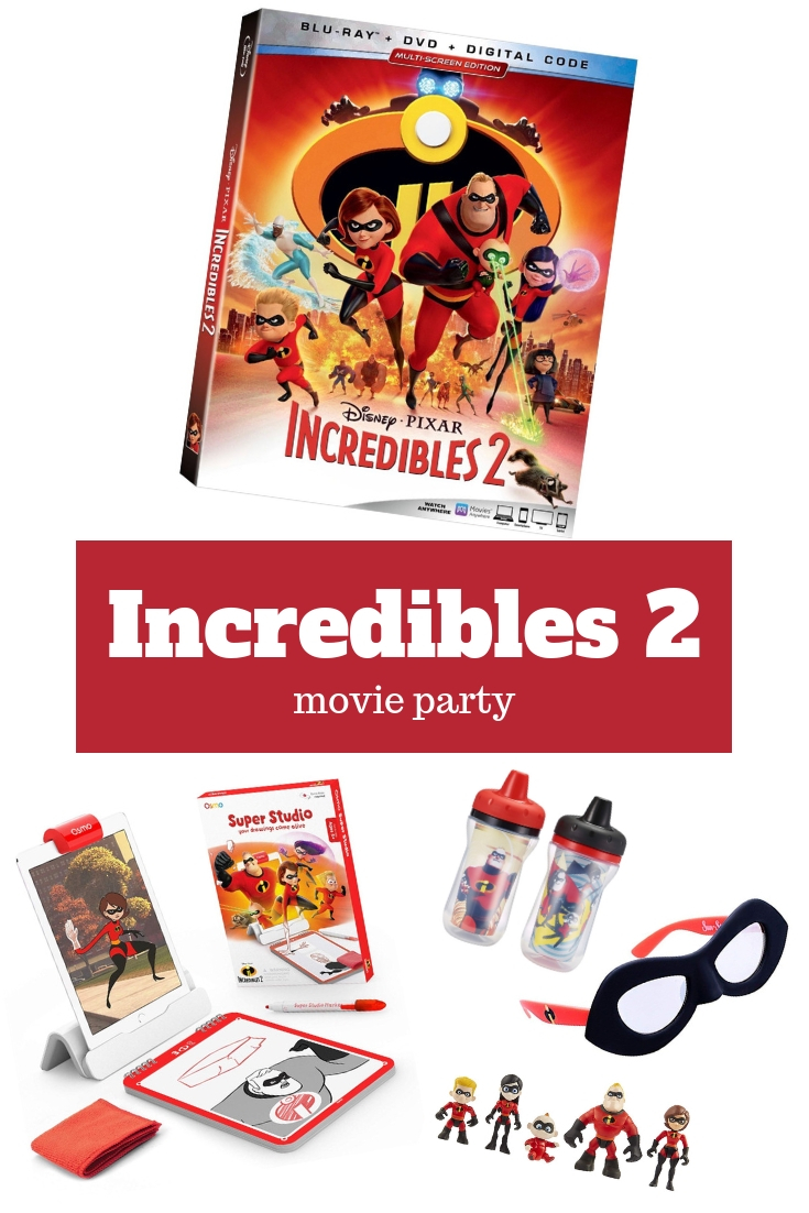 Incredibles 2 Movie Party