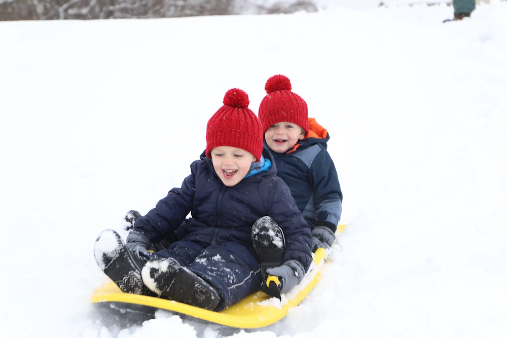 Snow Day Fun | St. Louis Family and Lifestyle blogger Liz of Ellie And Addie