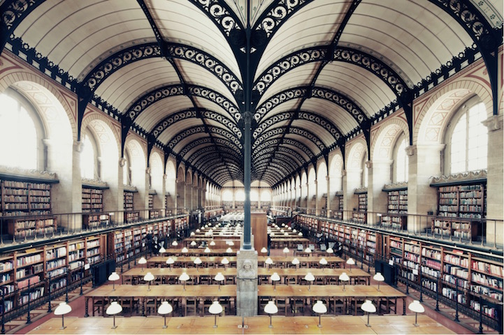 Bibliothèque Sainte Genevieve, Paris, franck bohbot, house of books