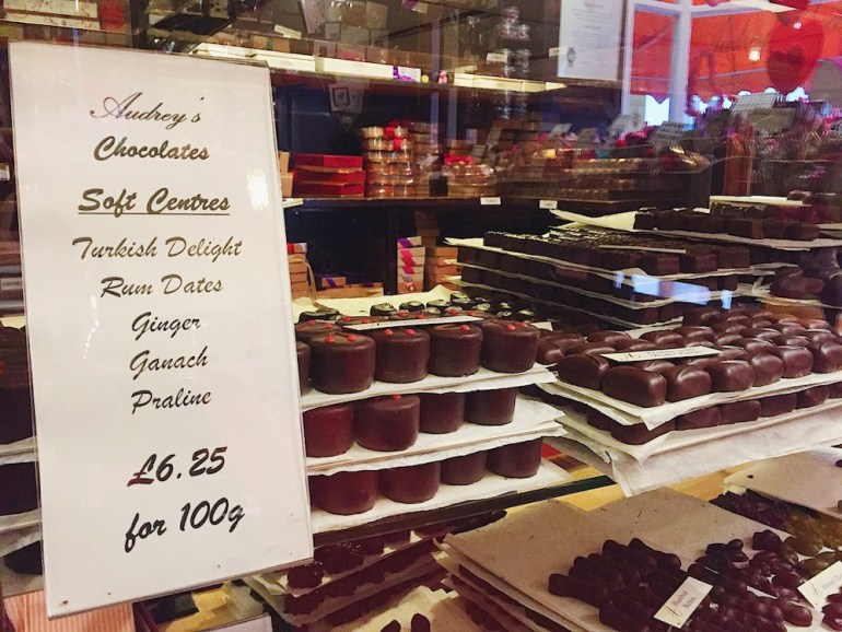 audrey's chocolate shop hove