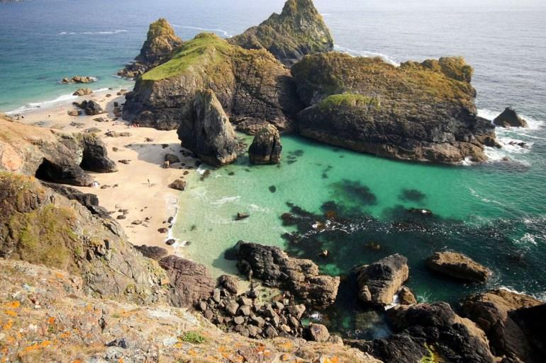 Kynance Cove Cornwall Curious Travel Wishlist Ellie & C