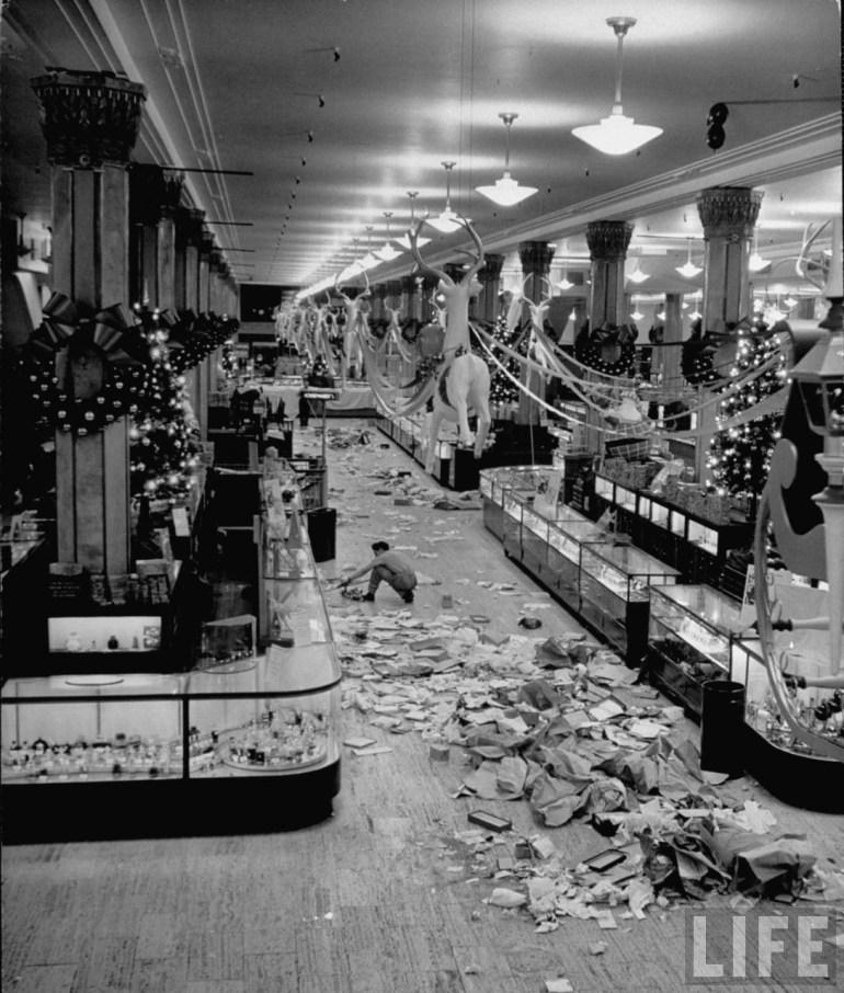 black friday macy's new york 1948