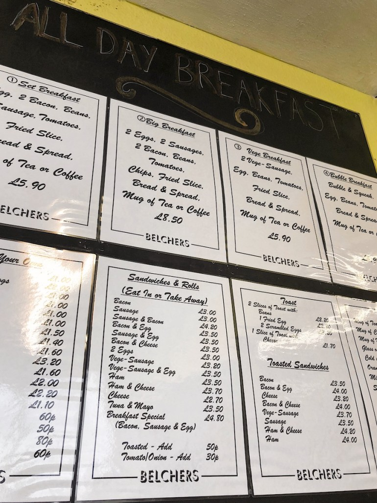belchers cafe brighton
