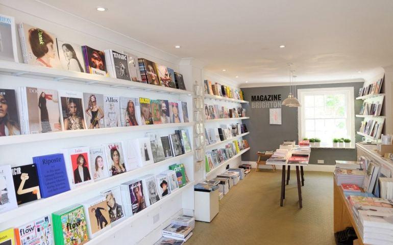 magazine shop brighton