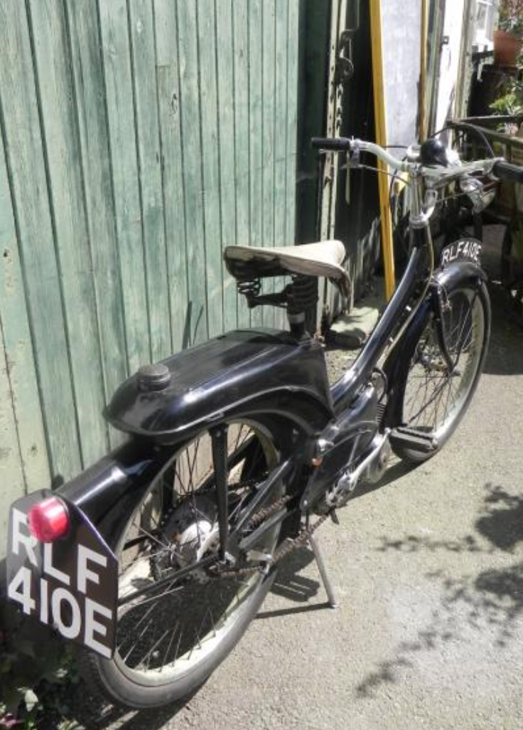 pastorale antiques raleigh moped scooter for sale